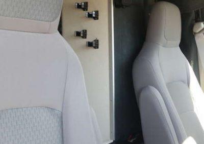 Jackons Seat & Radio Amp