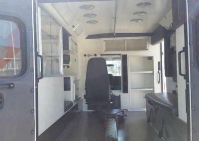 Jackson Ambulance Remount Inside