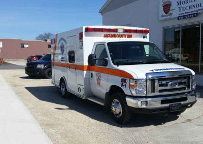 Jackson Ambulance Remount Side