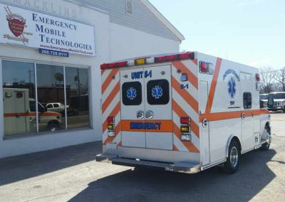 Jackson Ambulance Remount back